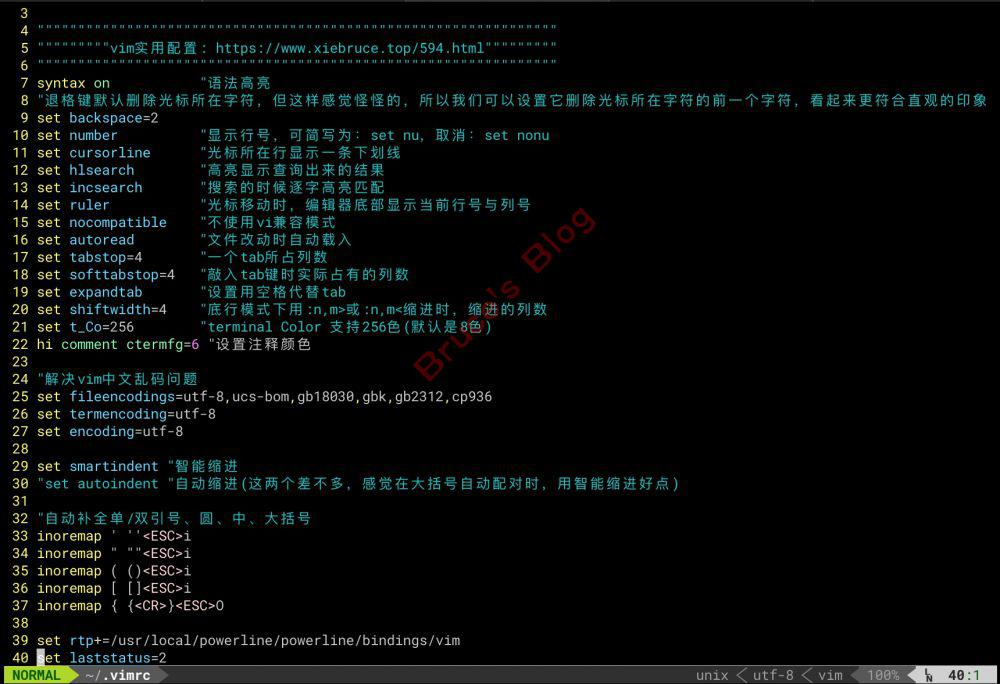 Mac/Linux下配置iTerm2+zsh+powerline美化终端窗口| Bruce's Blog
